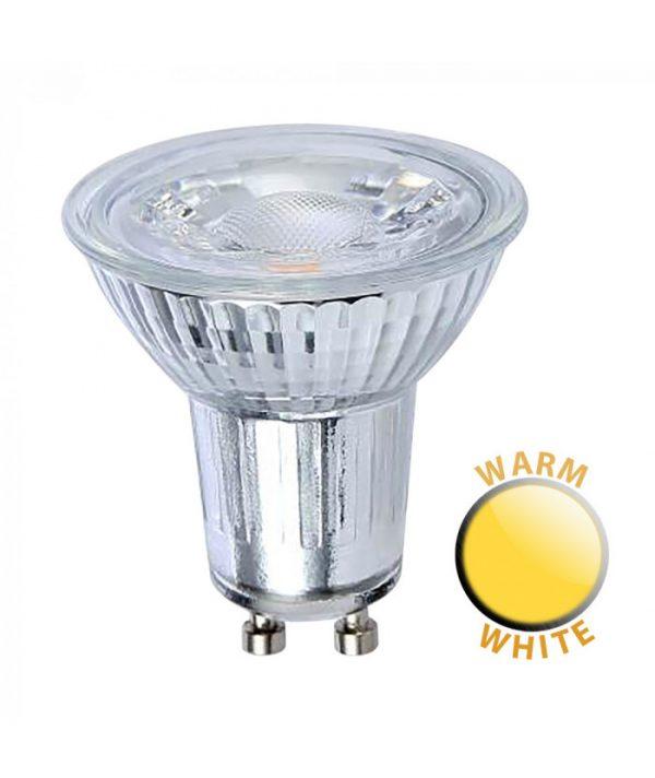 LED 5W GU10 downlighter lamp in warm white