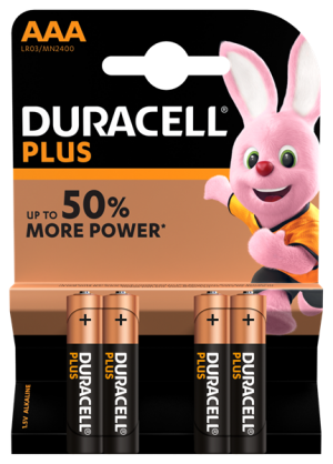 Duracell C Plus Power batteries four pack