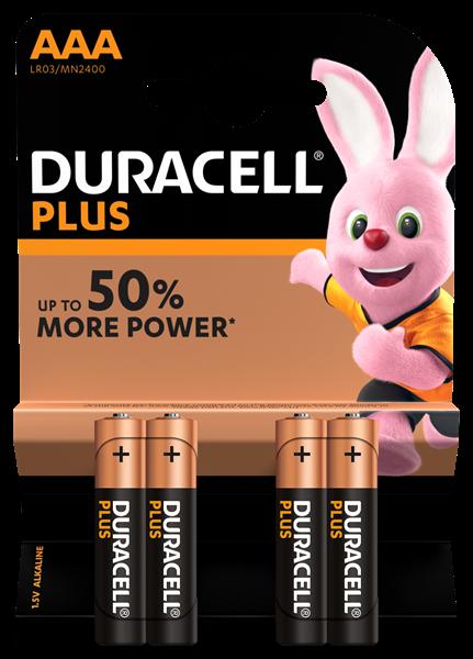 Duracell C Plus Power batteries four pack