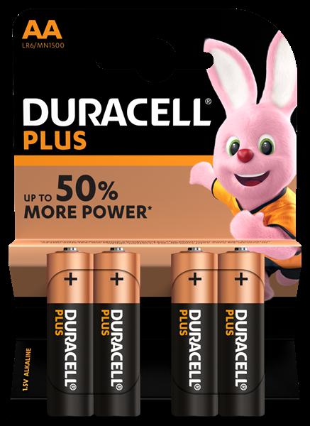 Duracell AA Plus Power Alkaline batteries