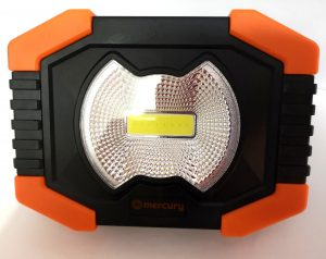 A useful Compact LED Worklight Torch 3 x AA batteries included