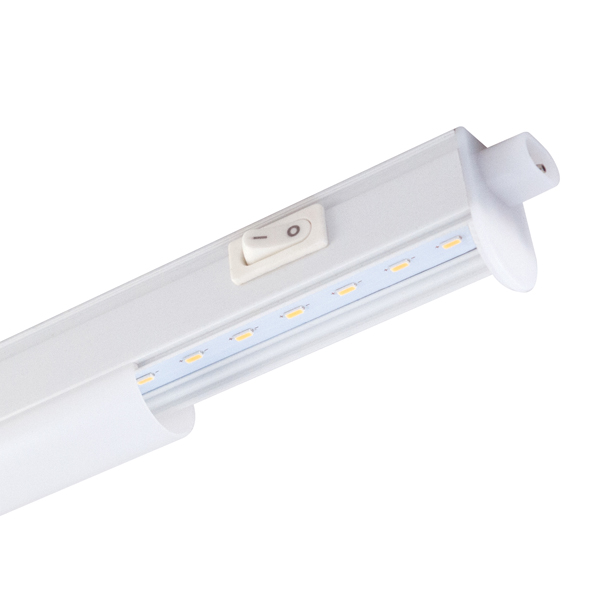 A LED Link-light with a switch and a white light output. The image shown is partly open to show the LED configuration.